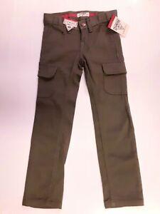 Oshkosh Bgosh Girl Size 5 NWT Hunter Green Cargo Pants Adjustable Waist.