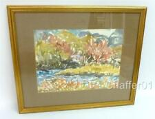 Robert GS MacKECHNIE (1894-1975) RBA Abstract Watercolour Painting1950s