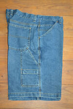 Men's Faded Glory Carpenter Denim Shorts 38W