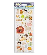 On The Farm - Stickers - Craft Planet - Fun Stickers - Foiled