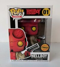 Funko Pop Comics Hellboy #01 with Horns CHASE Vinyl Figure - New Mint In Box