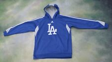 Vintage Adidas MLB Los Angeles Dodgers Hoodie Jacket Size Youth L (14-16).