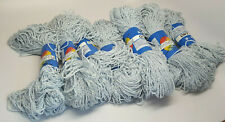 Lot of 10 Matched Skein Vintage Filpucci Oceano Yarn - 07 Pale Blue