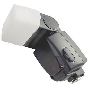 Diffusoren Weiß Diffusor Softbox passend für Sony HVL-F42 AM Blitzlicht