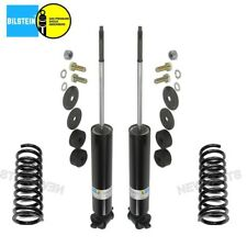 For Mercedes-Benz W126 Pair Set of 2 Rear Shock Absorbers w/ Coils Bilstein B4
