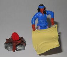 Timpo Toys Apache - smoke signal - Rauchmelder blau - unbespielt - TOP