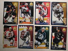 1997-98 Kraft Dinner Cut outs 8 cards -Kariya, Bure, Yashin, Damphousse, LeClair