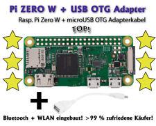 Raspberry Pi Zero W (WLAN) con USB OTG adaptador ~ envío gratuito ~