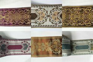 Jacquard Woven Ribbon/Trim  Polyester 9 cm width 1 yard