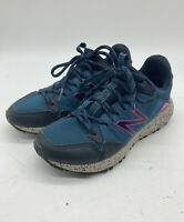 New Balance Womens Wtcrglm1 Blue Running Shoes Size 6