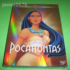 POCAHONTAS CLASICO DISNEY NUMERO 33 - DVD NUEVO Y PRECINTADO SLIPCOVER
