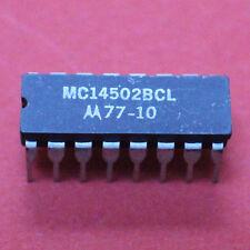 2 PZ. mc14502bcl Motorola CDIP - 16 strobed HEX INVERTER/Buffer - 2pcs.