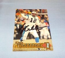 Kerry Collins Signed Autographed 1997 Pacific Card Carolina Panthers