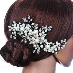 2pcs Ivory Hairpins Wedding Hairwear Bridal Hairpins Ivory Hair pins Crystal Hairpins Rhinestone Hairpins Ivory Pearl Hairpins Accessories