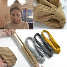 High Elastic Women Girl Knotted Cross Tie Headband Hair Band Korean Headwear Hot