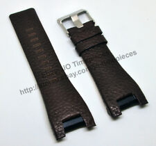 Comp. Diesel Bugout DZ1273 DZ1216 DZ4246 - 32mm Brown Leather Watch Strap Band
