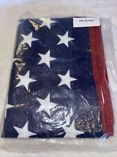 New listing American Flag 3x5 brass grommets quality stitched. Usa.