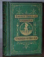 1873  1ST EDITION~TWENTY THOUSAND LEAGUES UNDER THE SEAS ~ JULES VERNE