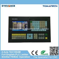 TAC-1004M Four Axes support PLC ladder cnc milling controller