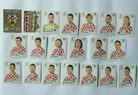 Panini WM 2018 Kroatien Croatia Team Complete Set World Cup WC 18