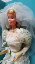 Vintage 1976 Superstar Beautiful Bride Barbie by Mattel No 9907