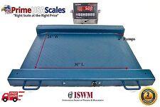 1000 Lb X 02 Lb Optima Scale Op 917 Lightweight Portable Drum Scale 32
