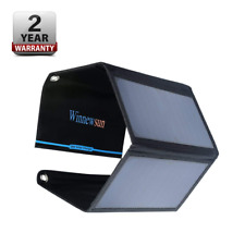 Foldable Solar Charger 28W for Cell Phones,iPhone,iPad, iPods and android 5V USB
