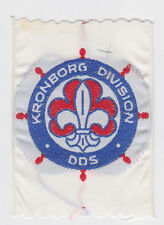 SCOUTS OF DENMARK - DANISH DGSA (MIXED) KRONBORG DIVISION DDS SCOUT BADGE ~ EXT