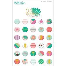 My Minds Eye Palm Beach Puffy Stickers - 229240