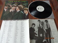 """THE BEATLES """"ROCK N'ROLL MUSIC VOLUME 1"""" - JAPAN LP - EAS-70128 -  PROMO"""