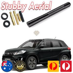 Antenna / Aerial Stubby Bee Sting for Suzuki Vitara Black Carbon 12CM