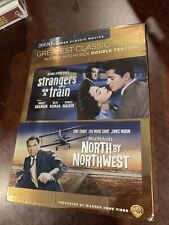 Tcm Greatest Classic Films: Alfred Hitchcock - Strangers on a Train/North by.