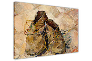 FAMOUS VINCENT VAN GOGH PAINTING SHOES FRAMED PICTURES CANVAS WALL ART PRINTS