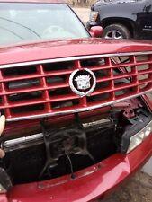 98-04 Cadillac Seville STS SLS Front UPPER Grille Emblem Chrome OEM red Emblem