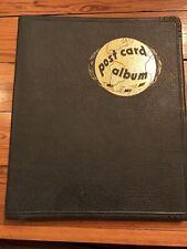 Vintage ELCO Postcard Album Book Binder Holds 250 Postcards, 1940s Or 1950s?