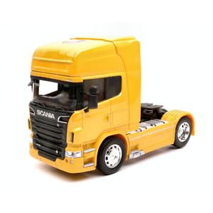 SCANIA R730 V8 (4x2) 2015 YELLOW 1:32 Welly Camion Die Cast Modellino