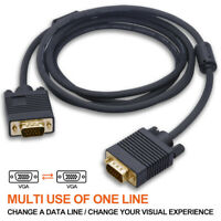 15Pin VGA Male to Male VGA 15FT 6FT 30FT Cable for TV Computer Monitor Extension