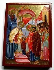 Maria introducción en el templo icono Icon ICONE икона Mother of God en Temple