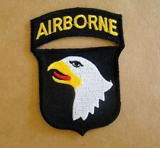 US Army 101st Airborne Iron On Patch