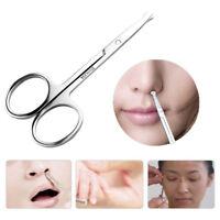 Round Tip Scissors Nose Hair Eyebrow Clip Trim Safe Small Scissors Beauty Tool
