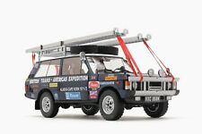 """Range Rover """"The British Trans-Americas Expedition"""" (868K) 1:18 by Almost Real"""