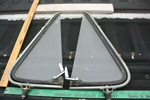 1961 1962 1963 1964 1965 1966 FORD TRUCK PICKUP VENT WINDOW ASSEMBLY GLASS RT/LT