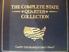 More details for franklin mint us fifty state complete quarter collection 1999-2008 bu inc.coins