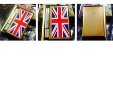 LIGHTER UNION JACK DOUBLE EJECTION CIGARETTE BOX/CASE WITH IN BUILT LIGHTER