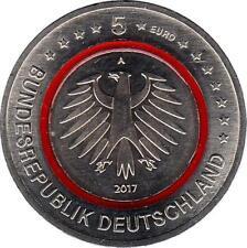 """Deutschland 5 Euro 2017 """"Tropische Zone"""" A"""