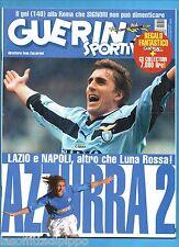GUERIN SPORTIVO-1999 n.50- LAZIO e NAPOLI-DELVECCHIO-CRESPO
