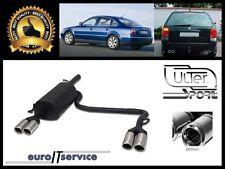 SILENCIEUX POT D'ECHAPPEMENT VW PASSAT B5 1996-2001 2002 2003 2004 2005 TIP 2x80