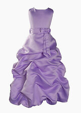 New Flower Girl Party Bridesmaid Wedding Pageant Dress