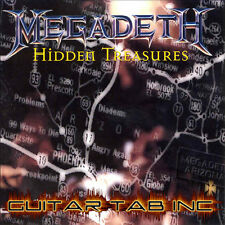 Megadeth Guitar & Bass Tab HIDDEN TREASURES Lessons on Disc