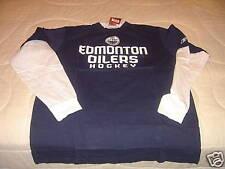 NHL Edmonton Oilers Long Sleeves Layered T Shirt XL NWT